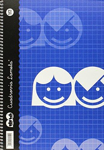 Lamela 07F005 - Cuaderno folio, 80 hojas
