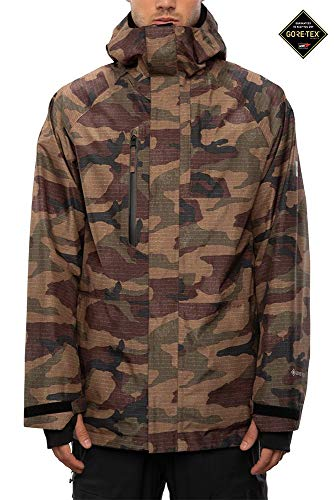 686 GLCR Men's Gore-Tex Core Jacket - Dark Camo, Small