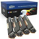 RINKLEE 126A Toner Compatible para HP Laserjet Pro M175nw M175a CP1025 CP1025nw TopShot M275 M275nw MFP Canon i-SENSYS LBP7010C LBP7018C | Alta Capacidad 1200/1000 Páginas | 4-Pack