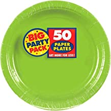 Amscan Green Paper Plate Party
