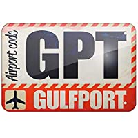 Airptco GPT Gulfpt 金属板ブリキ看板警告サイン注意サイン表示パネル情報サイン金属安全サイン