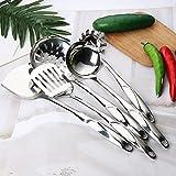 6 Teiliges Küchenhelferset Küchenset Küchenzubehör Küchenutensilien Set aus 304 Edelstahl...