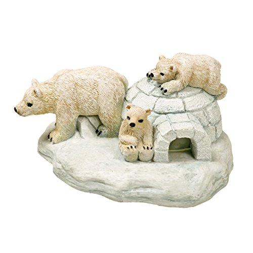 Blue Ribbon EE-368 Polar Bear Island Exotic Environments Aquarium...