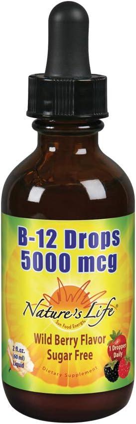 shop Natures Life 55% OFF B12 Drops Methylcobalamin mcg Healthy Energy 5000