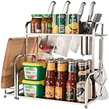 Home Living Museum/Kitchen Seasoning Racks Home Counter Oil Salt Sauce Vinegar Seasoning Bottle Storage Racks Sauce Racks ...