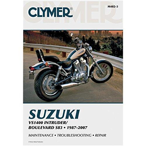 M482-3 Suzuki VS1400 Intruder 1987-2007 Clymer Motorcycle Repair Manual