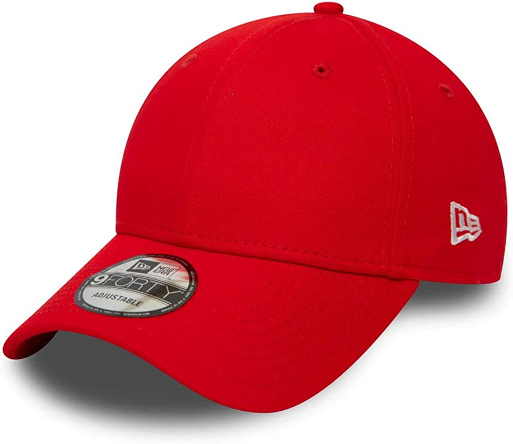 New quality assurance Era 9FORTY Plain Baseball Cap Max 44% OFF - Red Essential