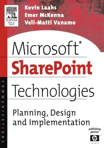 Microsoft SharePoint Technologies: Planning, Design and Implementation (HP Technologies) (English Edition)