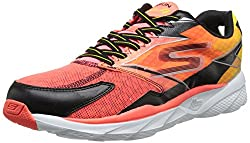 Skechers GO run Ride 4 Herren Laufschuhe Orange