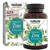 Zinc 25mg Alta dosificación - 400 Tabletas Premium Bisglicinato de Zinc puro (Quelato de Zinc)- Zinc elemental de alta biodisponibilidad - Producción probada en laboratorio en Alemania