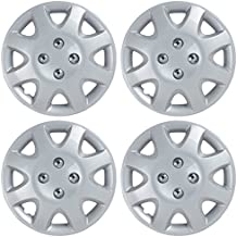 BDK KT-895-14_AMN Hubcaps Wheel Covers for Honda Civic 1998-2002 (14 inch) – Four (4) Pieces Corrosion-Free & Sturdy – Full Heat & Impact Resistant Grade – Replacement