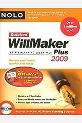 Quicken Willmaker Plus 2009 Edition: Estate Planning Essentials (Book with Software) Paperback