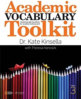 Academic Vocabulary Toolkit Grade 3: Student Text