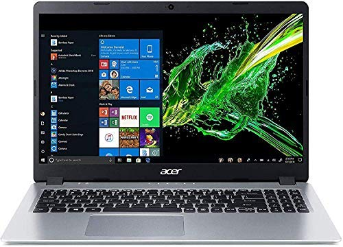 Acer Aspire 5 15.6' FHD LED-Backlit Display Laptop, AMD Ryzen 3 3200U Up to 3.5GHz, 8GB DDR4, 512GB PCle SSD, 802.11ac, Bluetooth, HDMI, Backlit Keyboard, Webcam, Windows 10 S, TWE Accessory Bundle