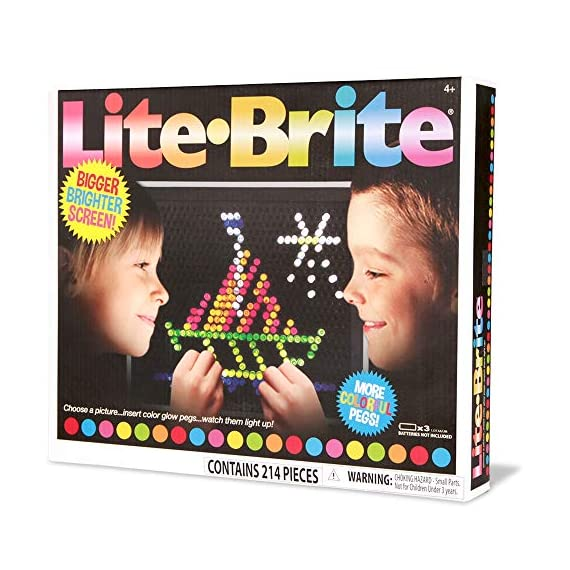Basic-Fun-Lite-Brite-Ultimate-Classic-Retro-Toy-Gift-for-Girls-and-Boys-Ages-4-Multicolor