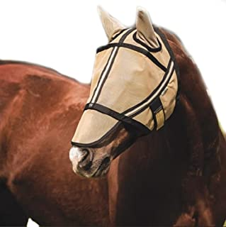(X-Large, Gold) - Noble Outfitters Guardsman Fly Mask w/Ears