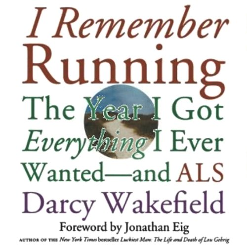 I Remember Running audiobook cover art
