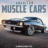 American Muscle Cars 2022 Wall Calendar