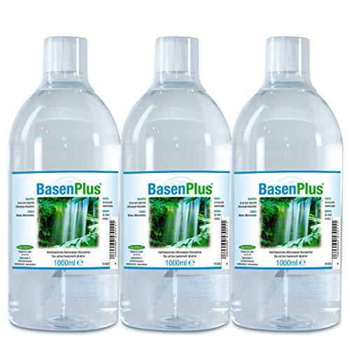Basisches Wasser - Ivarsson's BasenPlus - ph-Regulat Unser 3-Liter-Sparpaket - versandkostenfrei aus Deutschland