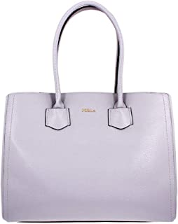 Furla Alba Ladies Large Gray Onice Leather Tote 984364