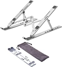 Laptop Stand,Adjustable Ergonomic Notebook Stand and Tablet Stand,Aluminum Folding Computer Desk Stand,Compatible with Mac...