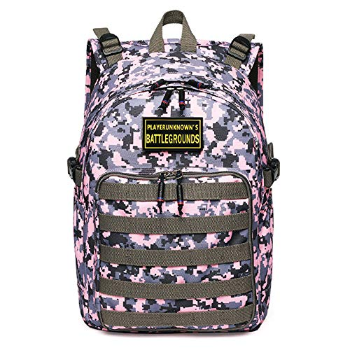CLOUD Student School Bag New Game Tactical Backpack Outdoor Travel Rucksack For Children And Adolescents red camouflage-30 x 17 x 40 cm