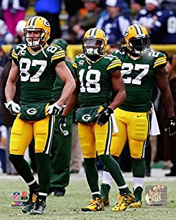 Jordy Nelson Randall Cobb Eddie Lacy Green Bay Packers Action Photo Size: 8 x 10