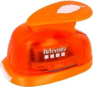 Artemio VIHCP226 Perforatrice à Levier Moyenne 2,5 cm Feuille #1, Plastique, Multicolore, 8,5 x 5 x 12 cm