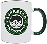 Espresso Patronum - Starbucks Themed 11oz Ceramic Mug/Cup, Grade A Quality Ceramic - Foam Box Protection (Perfect Gift)