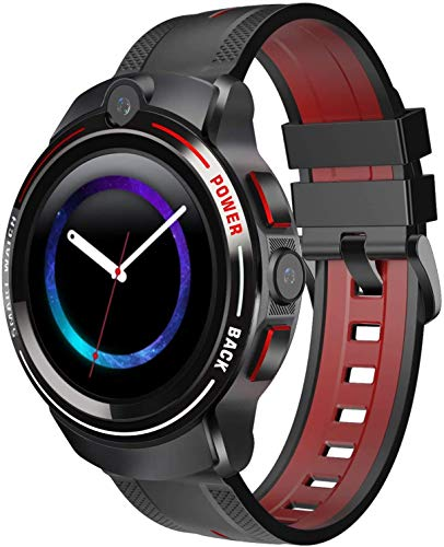 HUYAYUN Reloj Inteligente Cámara Dual Deportes 4G Reloj Inteligente Teléfono Android WiFi Plug-In Personajes de Dibujos Animados Posicionamiento Impermeable Moda
