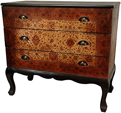 Amazon.com: Scarborough House Chest Myrtle Burl Marquetry ...