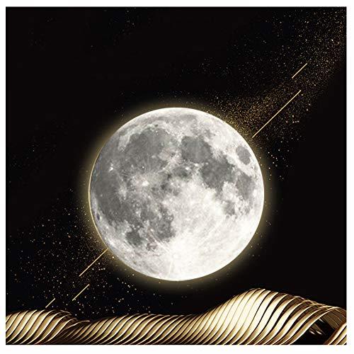 3D Moon Lamp – Lampada a LED da 10 pollici Luna Luna Luna Lampada con telecomando e 12 fasi lunari, 3D Moon Night Light Moon Wall Light Best Birthday Christmas Gifts for Kids