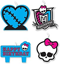 Mini Molded Cake Candles | Monster High Collection | Birthday