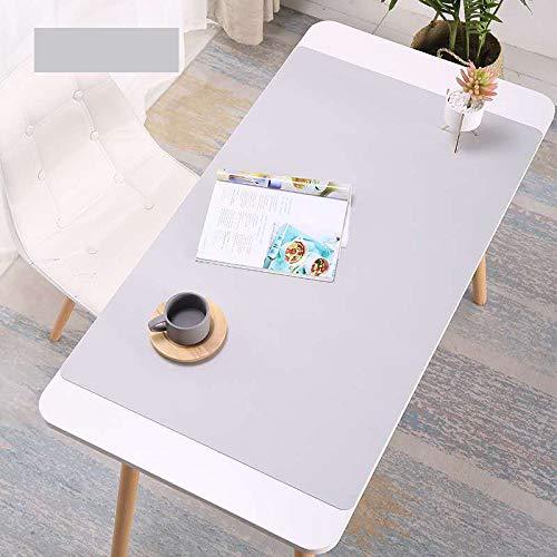 Almohadilla de Escritorio Multifuncional de Doble Cara, Protector secante de Escritorio Impermeable de 60x30 cm, Alfombrilla de Cuero para Escritorio Grande para Escritorio