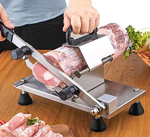 BAOSHISHAN Manual Meat Slicer Frozen Meat Slicer Slicing Machine...