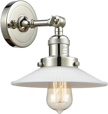 Innovations 203-PN-G1 1 Light Sconce, Polished Nickel