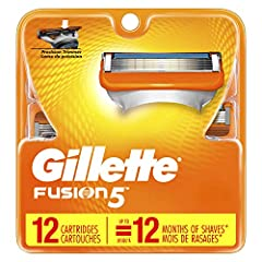 REFILLS FIT ALL GILLETTE 5-BLADE RAZOR HANDLES (excluding GilletteLabs) LUBRICATION STRIP fades when you are no longer getting an optimal shave 5 ANTIFRICTION BLADES provide a shave you can barely feel SOFT MICROFINS help to smooth and stretch skin b...