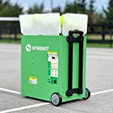 Spinshot Plus-2 Tennis Ball Machine (Plus2 Model=Plus Model + Player Model)