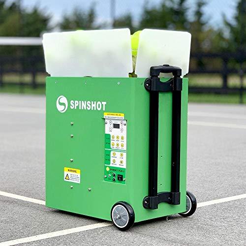 Spinshot Plus-2 Tennis Ball Machine (Plus2 Model =Plus Model + Player Model)
