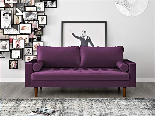 US Pride Furniture , Sofa, Purple