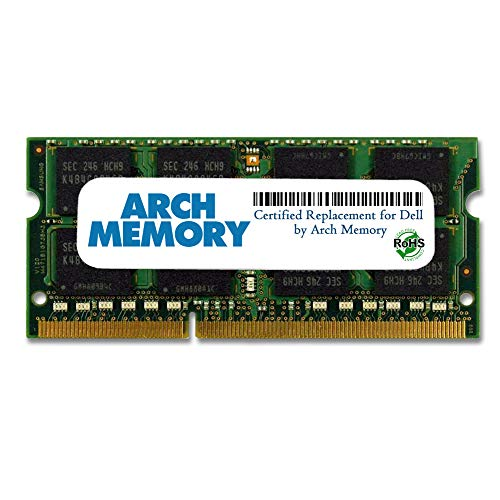 Arch Memory Replacement for Dell SNPN2M64C/8G A7022339 8 GB 204-Pin DDR3L So-dimm RAM for Inspiron 15 3552