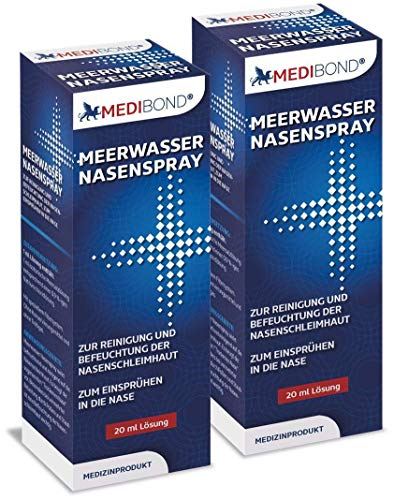 Medibond Meerwasser Nasenspray Doppelpack 2 x 20 ml