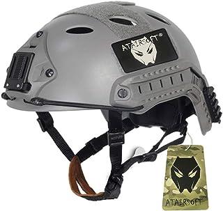 ATAIRSOFT FAST PJタイプ マリタイム サバゲー ヘルメット 空気穴を含む サイズは調節可能 FG サイズM-L