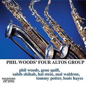 """Phil Woods """"Four Altos"""" Group (Original)"""