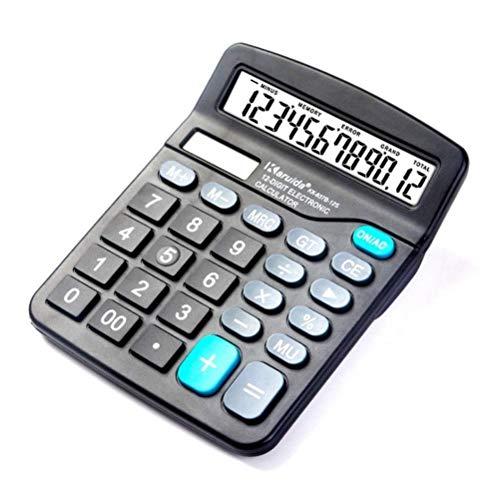 Calculadoras Calculadora, 12-escritorio dígitos calculadora financiera, préstamo y la hipoteca y la Calculadora de interés for bienes raíces, automóviles, barcos, y hogares.Y la batería híbrido alimen