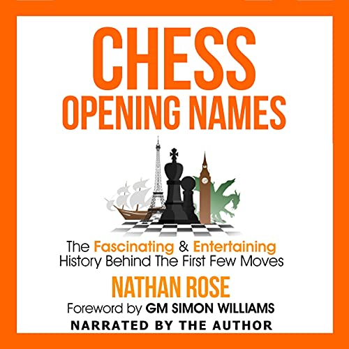 Chess Opening Names Audiobook By Nathan Rose cover art
