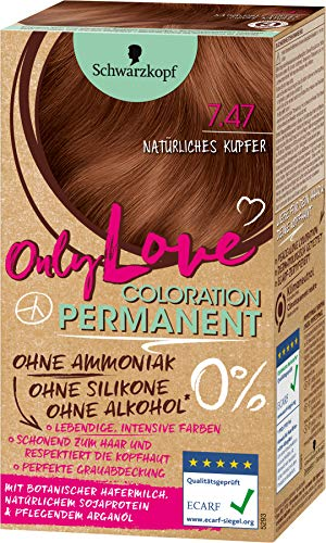 Schwarzkopf Only Love Coloration 4.74 Natürliches Kupfer, 143 ml