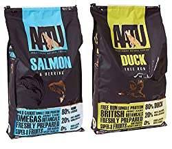 2 x 10kg AATU Multi Buy 80/20 Duck and Salmon Dry Dog Food