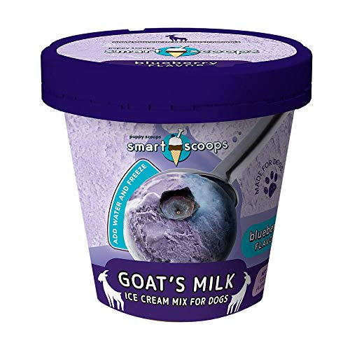 Smart Scoops Goat's Milk Ice Cream Mix for Dogs-...