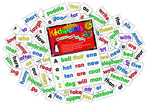 Barker Creek Learning Magnets, Kidwords High Frequency Words, Set of 208